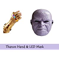 Fancydresswale Thanos Hand and Mask Combo