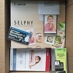 Amazon.com: Canon Selphy CP1300 impresora de fotos compacto ...