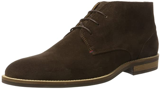 63f9f9ae9 Amazon.com  Tommy Hilfiger Daytona Chukka Mens Boots Brown  Shoes