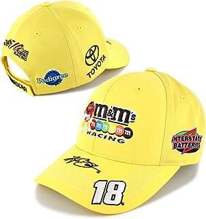 de3419d7f59 ... italy checkered flag nascar adult driver sponsor uniform adjustable hat  cap kyle busch 6f338 87c9f