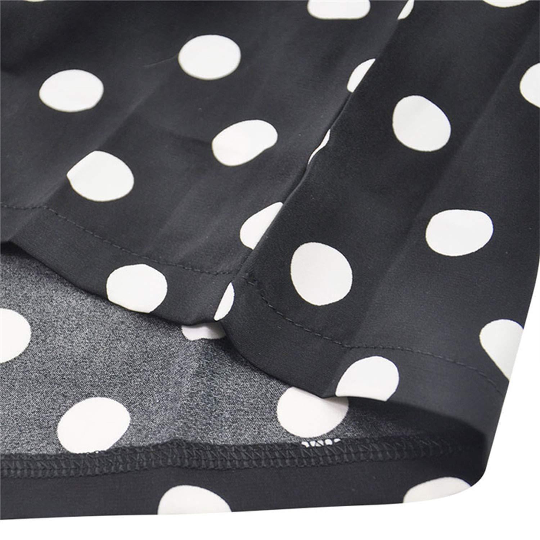Dot Print V Collar Long Sleeve High Waist Broad Legged Overalls Beach Sashes Rompers Womens Jumpsuit