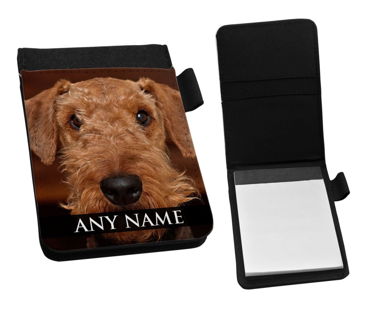 Airedale Notepad /& Pencil Gift Set