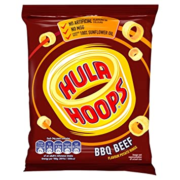 Image result for hula hoops chips bbq