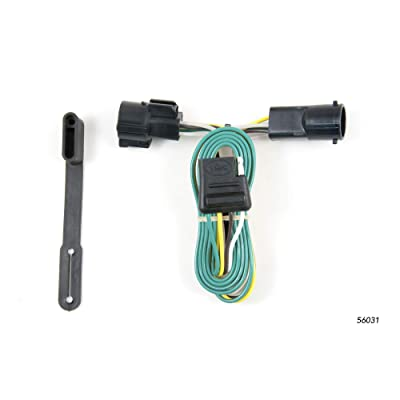 CURT 56031 Vehicle-Side Custom 4-Pin Trailer Wiring Harness for Select Ford F-150, Ford F-250 LD, Lincoln LT Pickup: Automotive