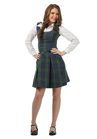 Adult School Girl Plus Size Fancy dress costume 2X: Amazon ...