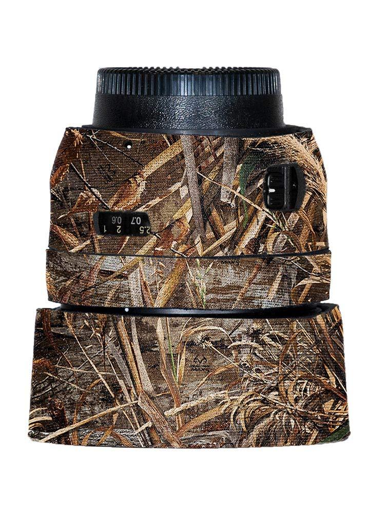 LensCoat カバー カモフラージュ ネオプレン カメラレンズカバー 保護 50mm F/1.4G、Realtree Max5 (lcn5014gm5) B07HZZF2PH