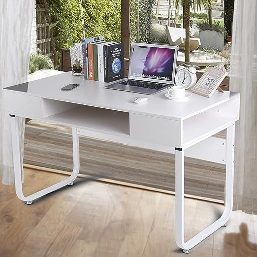 Escritorio de Computadora con Cajón Mesa de Oficina Mesa de ...