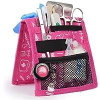 Salvabolsillos, Keen's, Mobiclinic, Para bata o pijama, Diseño exclusivo con estampados en color rosa, Amo la enfermería