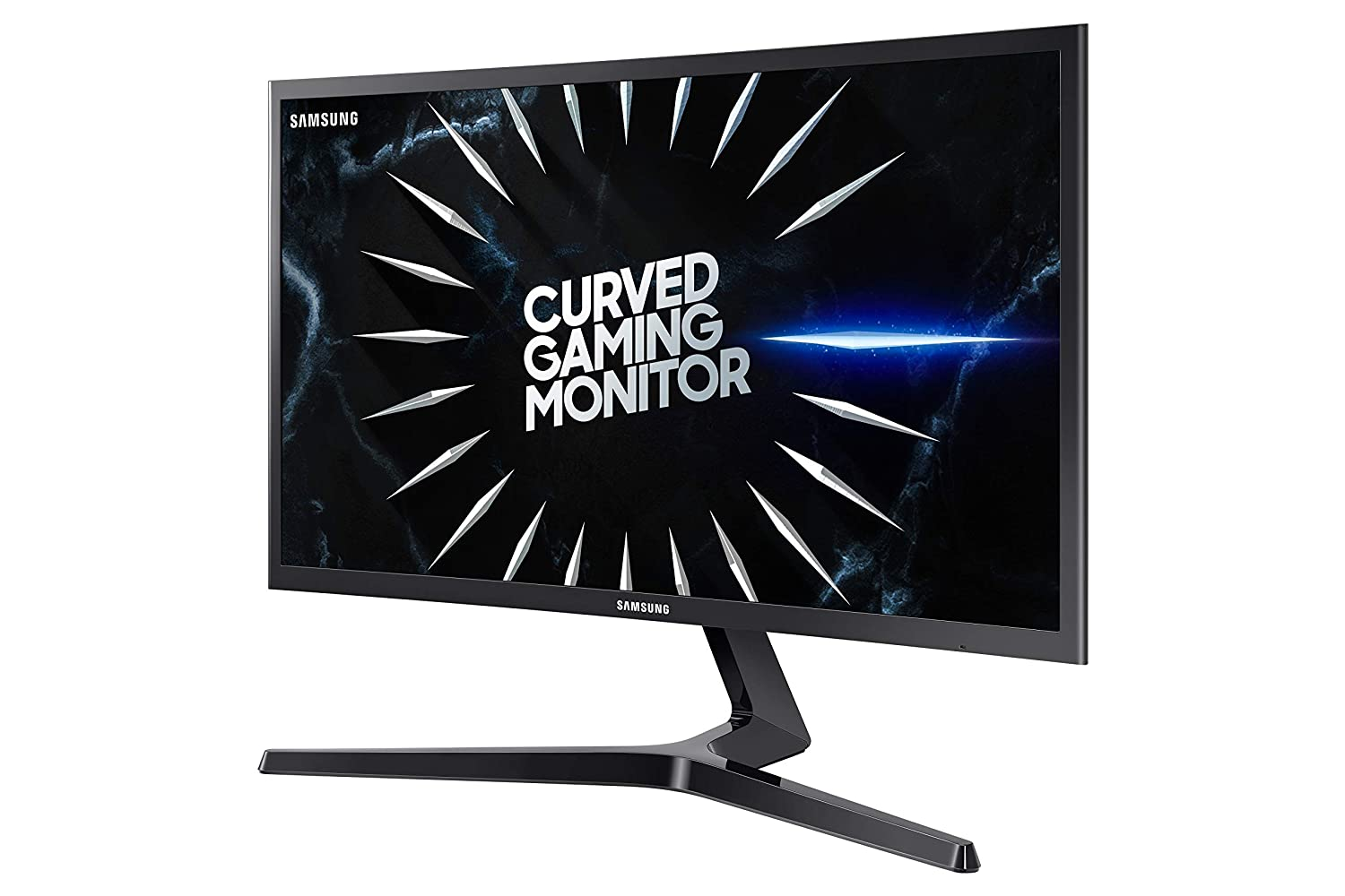 Samsung 24-Inch CRG5 144Hz Curved Gaming Monitor LC24RG50FQNXZA Computer Monitor, 1920 x 1080p Resolution, 4ms Response, FreeSync, Game Mode, HDMI