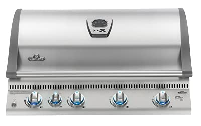 Napoleon LEX 605 Built-in Grill with Infrared Rotisserie, Propane Gas