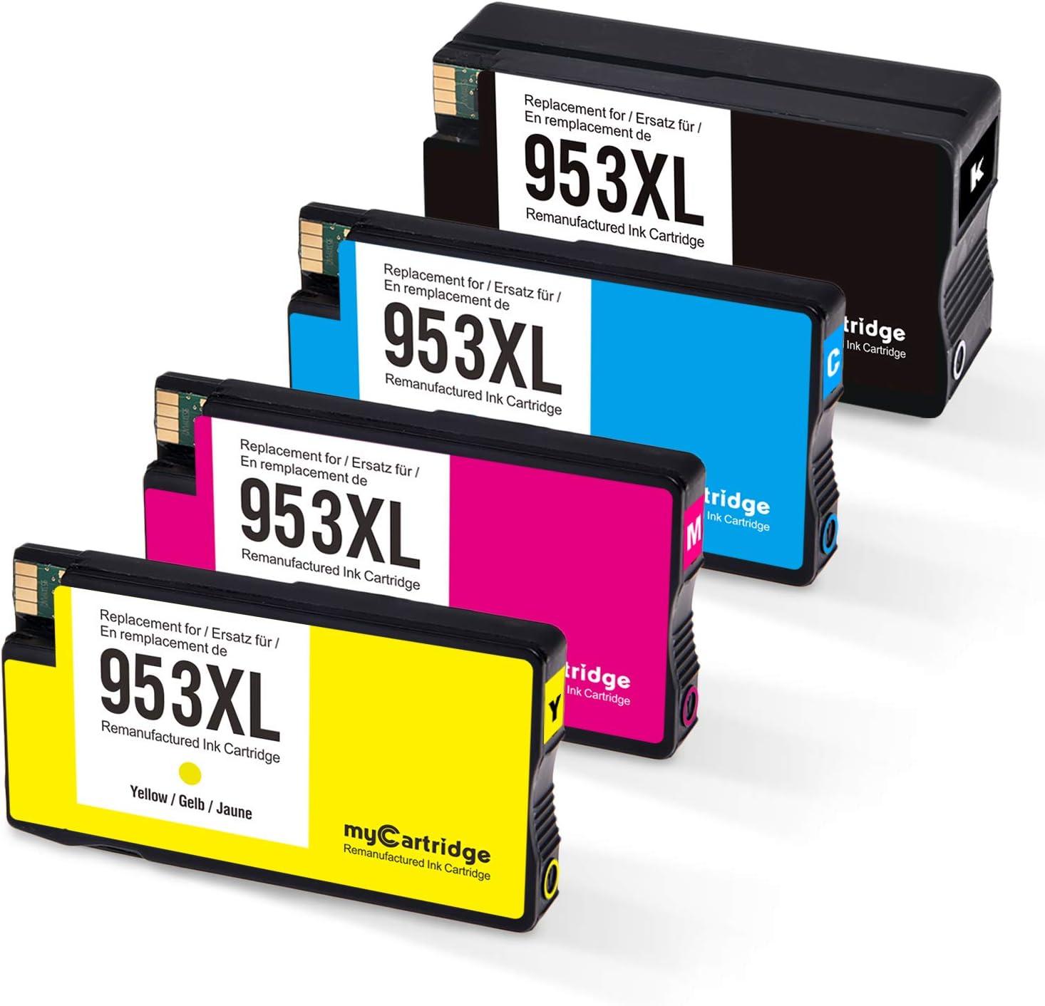 MyCartridge Compatible HP 953 XL 953XL Cartuchos de Tinta para ...
