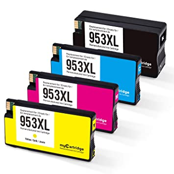 MyCartridge Compatible HP 953 XL 953XL Cartuchos de Tinta ...