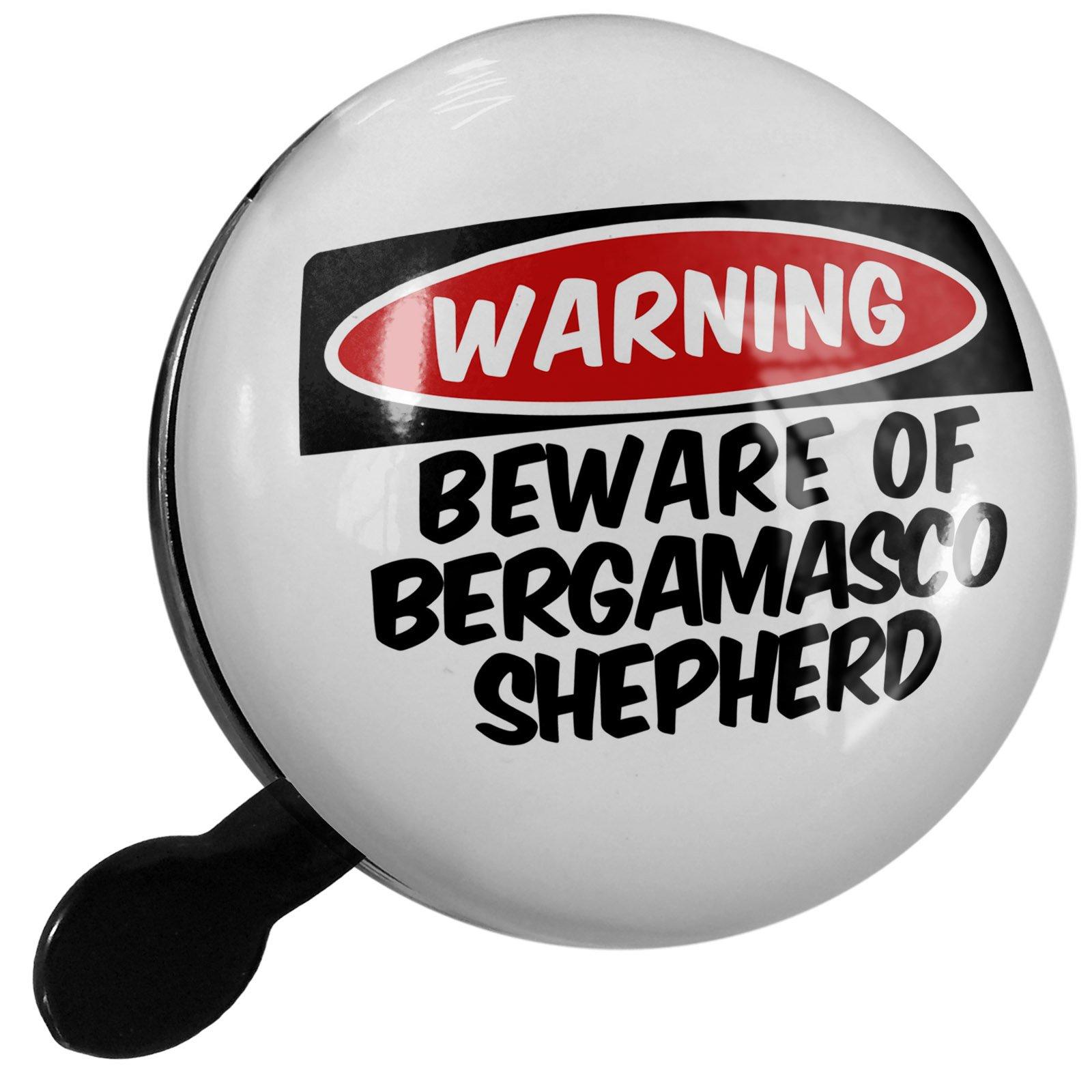 Small Bike Bell Beware of the Bergamasco Shepherd Dog from Italy - NEONBLOND