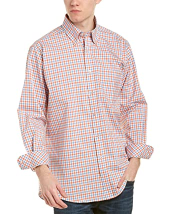a5b4689ac Forsyth of Canada Classic Fit Non-Iron Long Sleeve Mini Check Sport Shirt