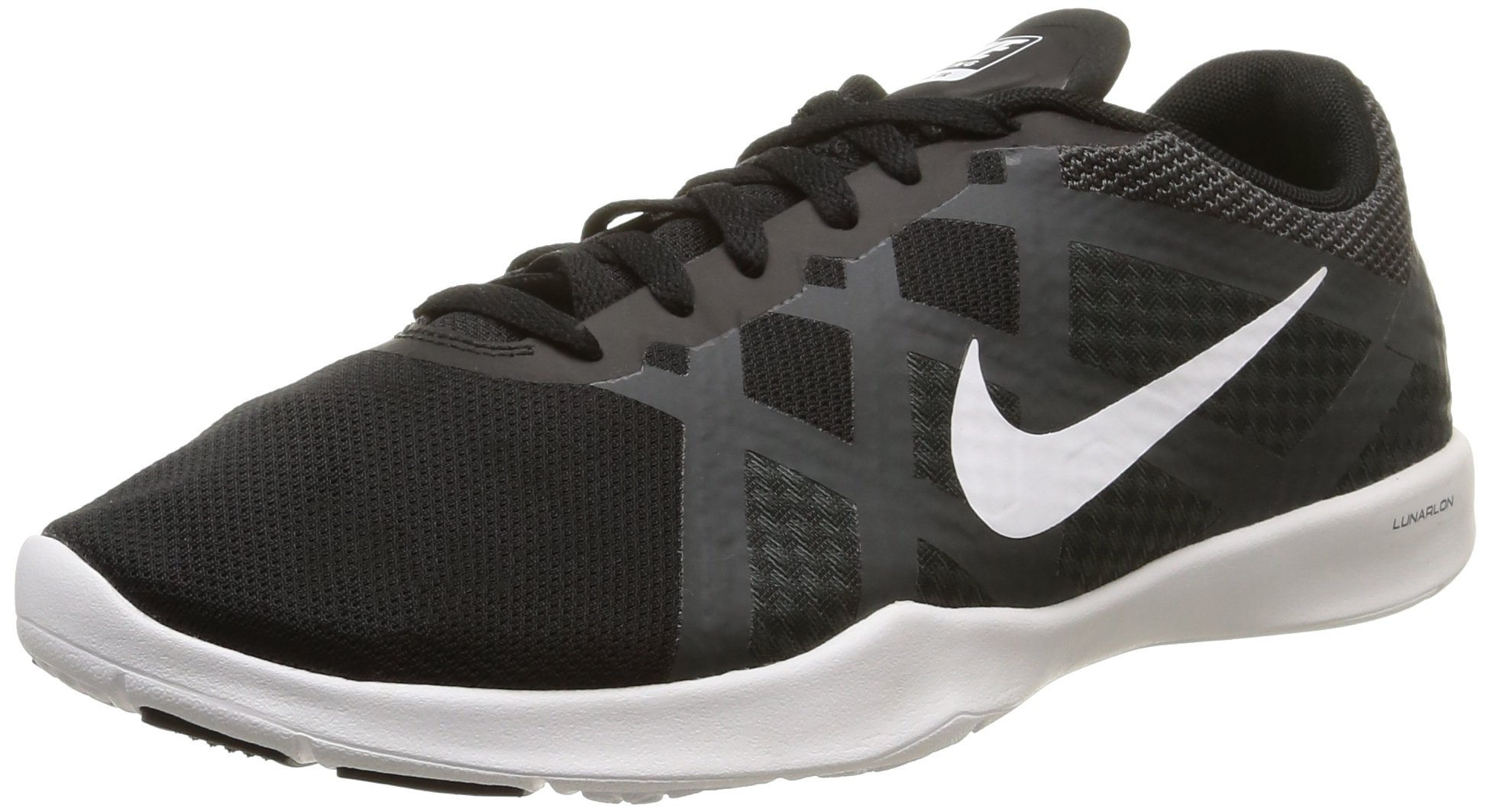 Nike Women's Lunar Lux TR Cross Trainer Black/White/Anthracite/Volt 6.5 B(M) US by NIKE