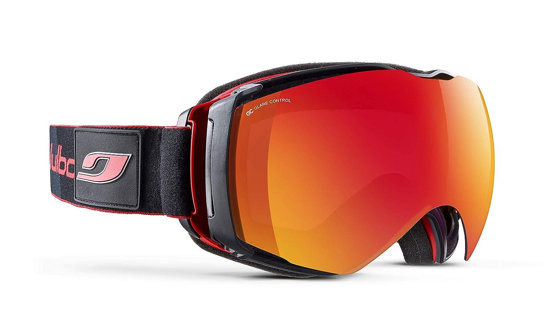 1ddca279a5b Amazon.com  Julbo Eyewear Unisex Airflux OTG Red Black One Size  Clothing
