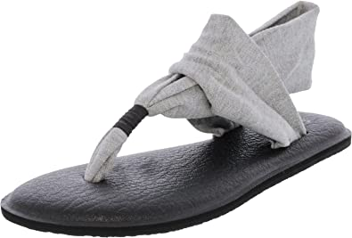 1d6e89d858b71e Sanuk Women s Yoga Sling 2 Sandals - Grey - 6