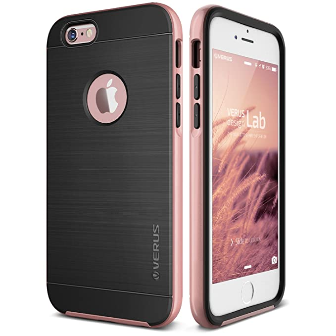 promo code 70a23 38feb iPhone 6S Plus Case, Verus [High Pro Shield][Rose Gold] - [Military Grade  Protection][Slim Fit] for Apple iPhone 6S Plus 5.5