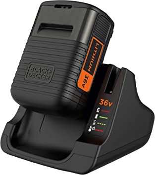 BLACK+DECKER BDC2A36-QW - Pack batería de litio 36V 2Ah y cargador: Amazon.es: Bricolaje y herramientas