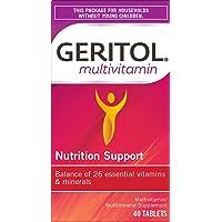 Geritol Multi-Vitamin Nutritional Support Tablets, 40 Count, Multivitamin/Multimineral...