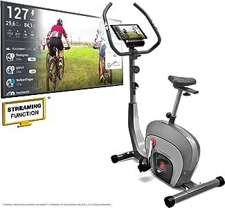 Sportstech - Modelo ES400 - Bicicleta estática ergómetro - Con ...