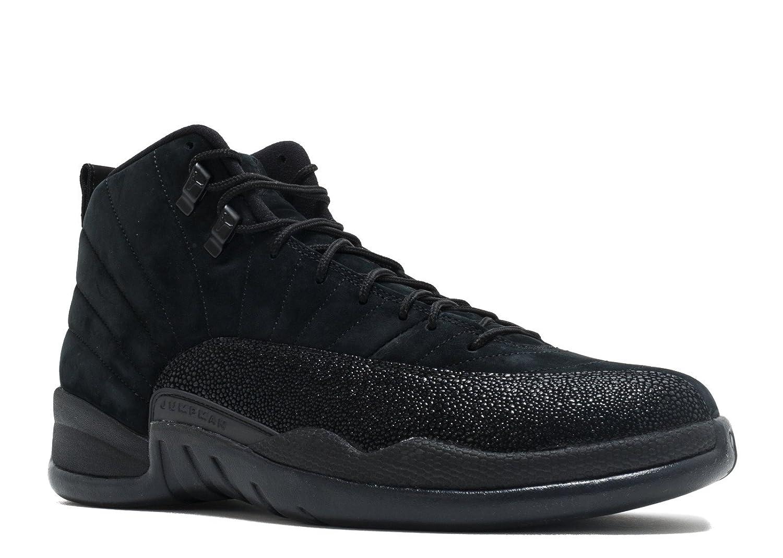 Black, black-metallic gold Nike Men's Air Jordan 5 Retro Basketball shoes