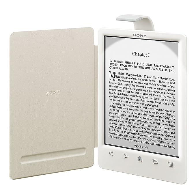 Sony PRSACL30W - Funda para ebook PRS-T3 (cubierta con luz), color ...