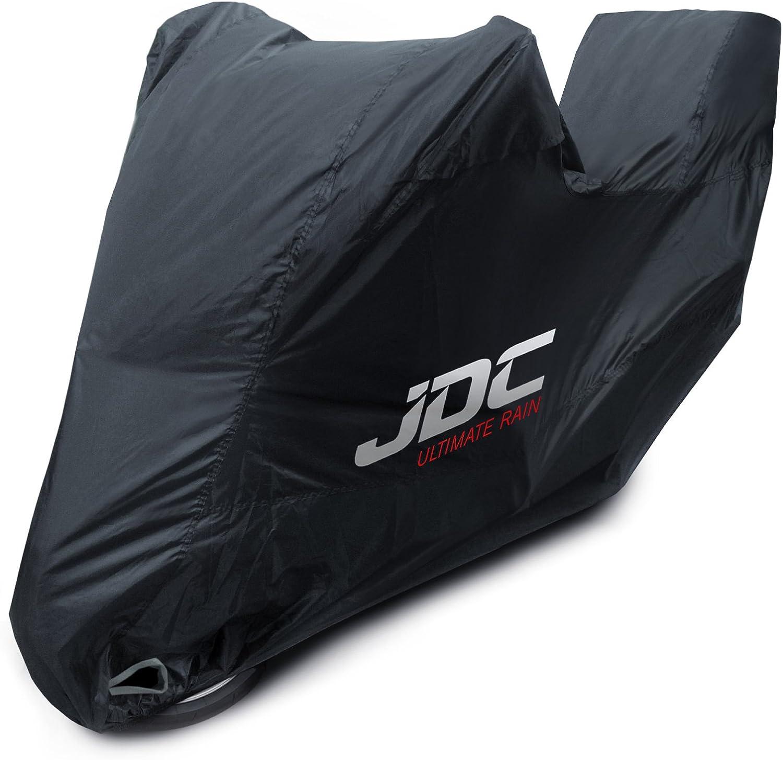 ULTIMATE RAIN JDC 100/% wasserdichte Motorradabdeckung Strapazierf/ähig, weiches Futter, hitzebest/ändig, verschwei/ßte N/ähte