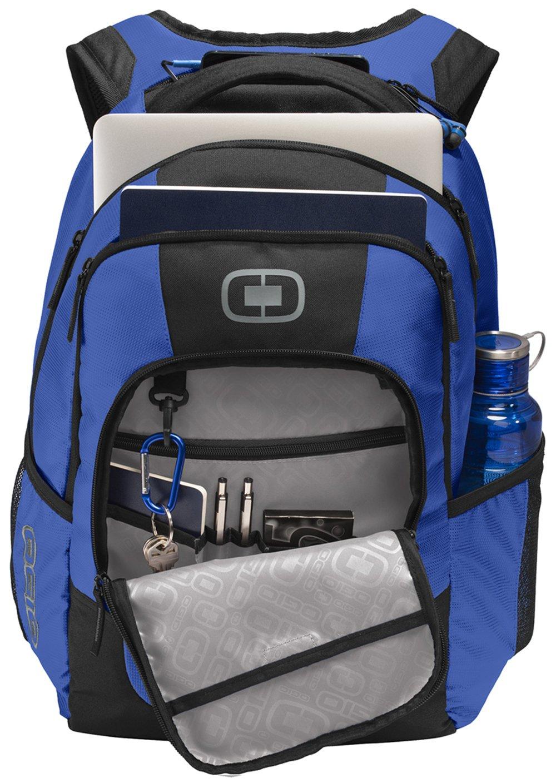 OGIO 411092 15'' Computer Laptop Logan Backpack, Cobalt Blue