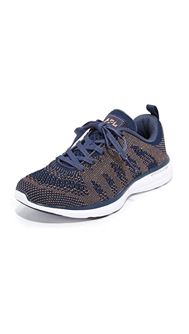 cdedc699b5ba Athletic Propulsion Labs (APL) Women s Techloom Pro Midnight Rose Gold  Shoe  Amazon.co.uk  Shoes   Bags