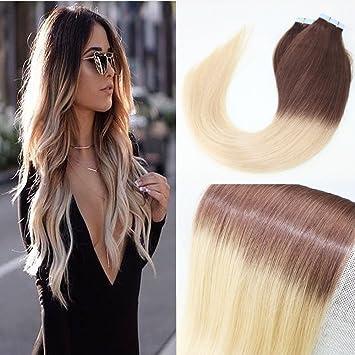 Amazon Com Beautymiss 22 40pcs 100g Straight Human Remy Hair 2