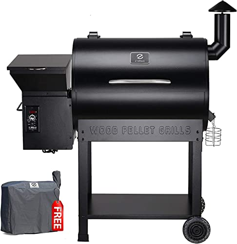 Z GRILLS Upgrade Wood Pellet Grill Smoker 8