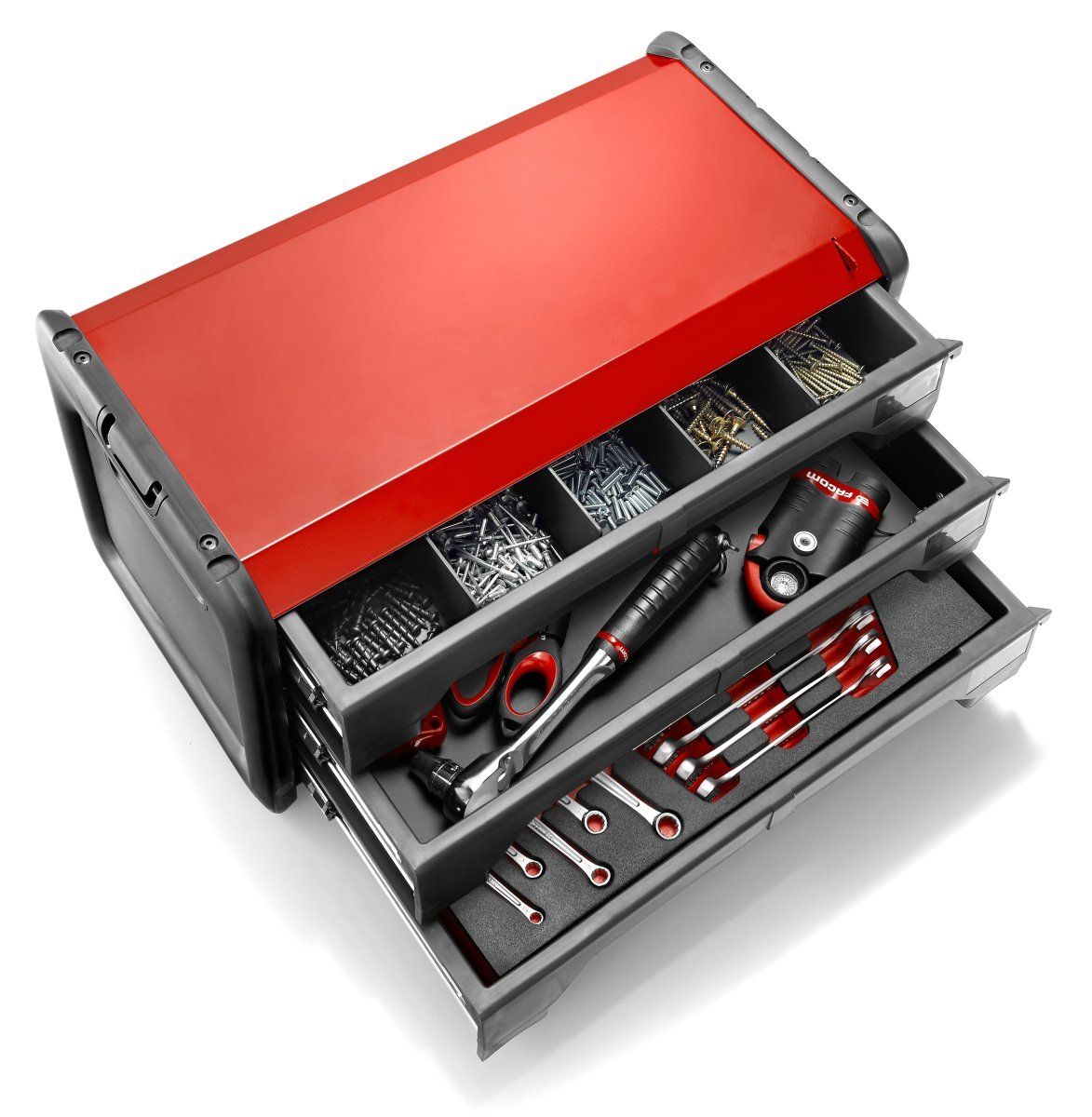 Facom BT.203PB rouge Bo/îte /à outils bi-mati/ère 3 tiroirs gris