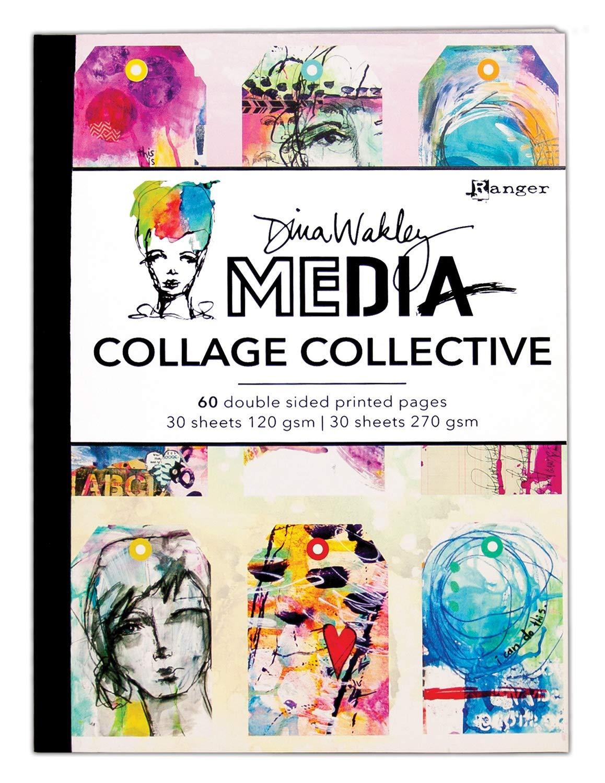 Dina Wakley Media Mixed Media Collage Collective-