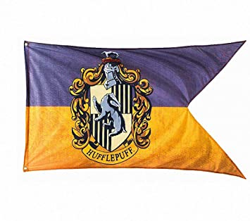 TianLinPT Harry Potter Gryffindor / Slytherin / Hufflepuff / Ravenclaw / Colegio Hogwarts Banderas Casa 4