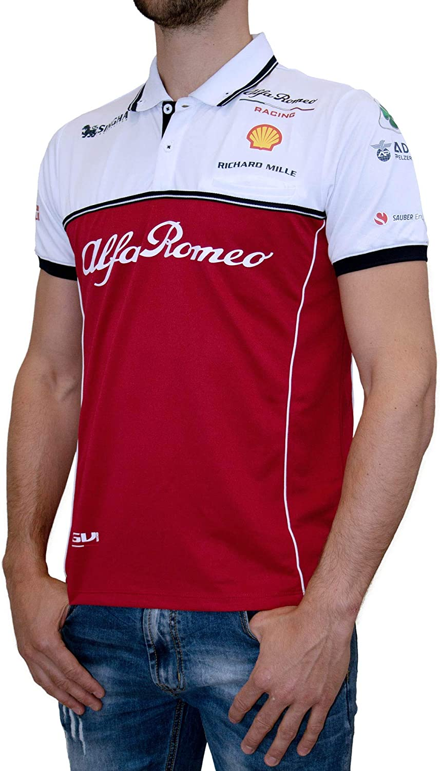 Alfa Romeo Racing - Polo para Hombre, Small: Amazon.es: Deportes y ...