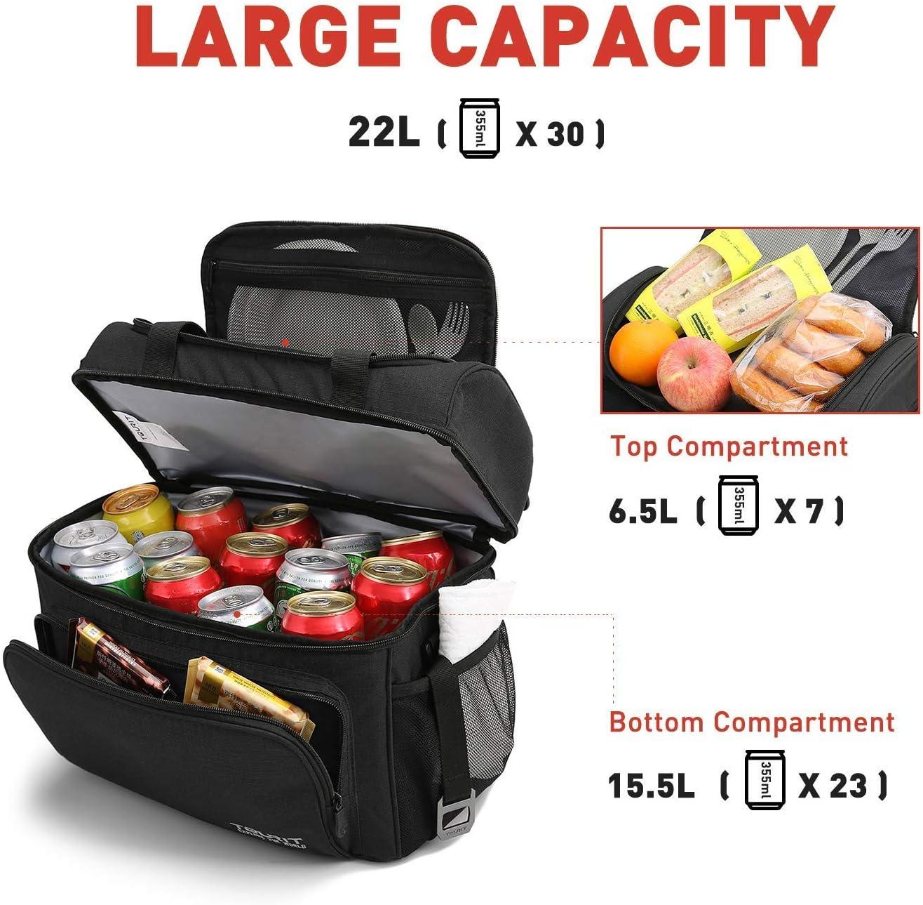 .. camping juego de 8 bolsas de almuerzo//cajas picnic pesca y m/ás TOURIT Paquete de hielo reutilizable para enfriadores de larga duraci/ón bloques de hielo para mochila m/ás fresca playa