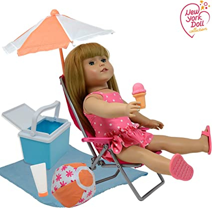Doll Sun umbrella Accessories For 18/'/' American Girl Our Generation Doll