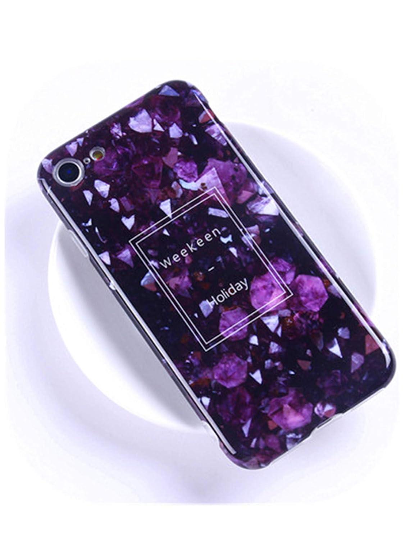 Amazon.com: Luxury Marble Phone Case for iPhone Coque Fundas ...