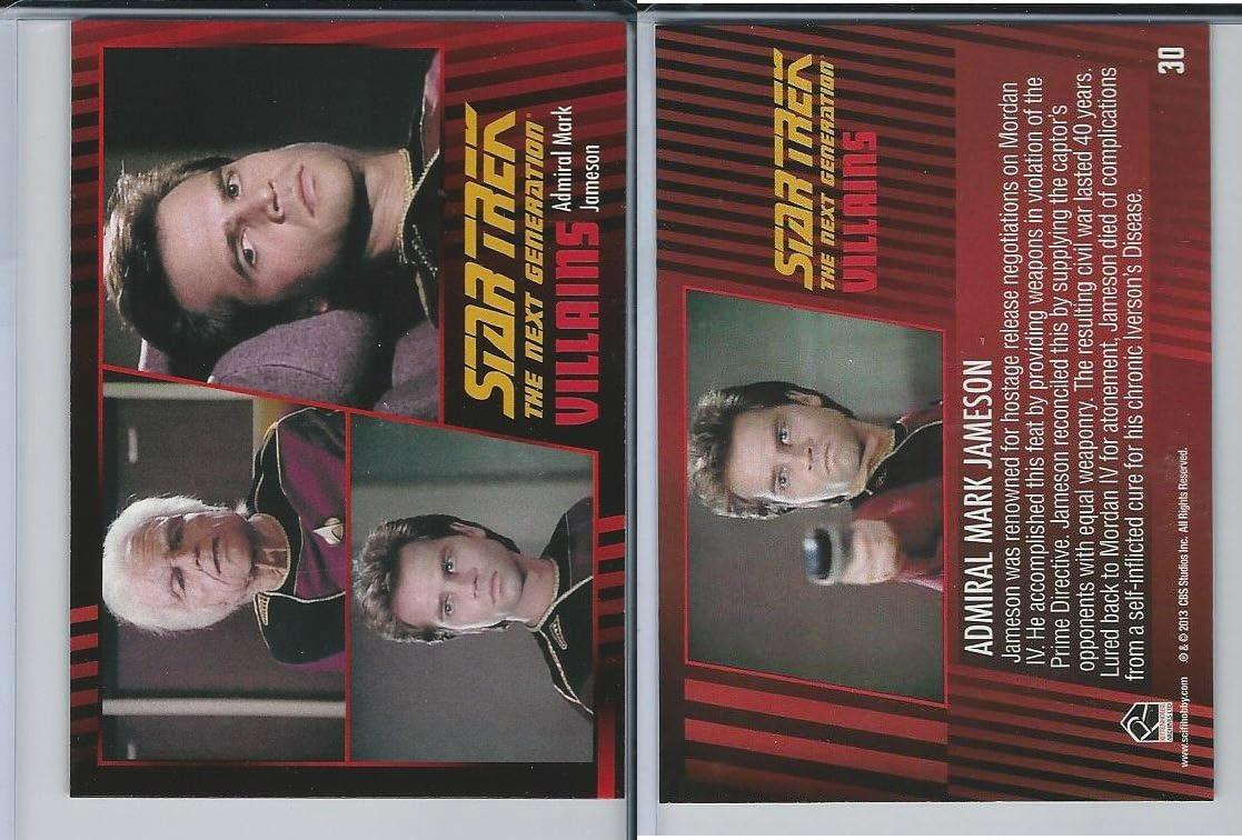 2013 Rittenhouse, Star Trek Next Generation H&V, 30 Admiral Mark Jameson