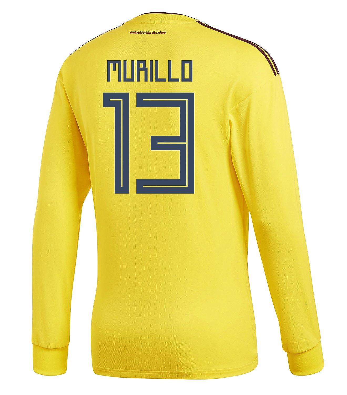 adidas Mens MURILLO #13 Colombia Home Long 2018/サッカー Sleeve Jersey Soccer Jersey World Cup 2018/サッカー ユニフォーム ムリージョ 背番号 13 コロンビア ホーム用 長袖 B07BB42L8G US Large, ギフトと日用品の卸問屋 ながみね:7cc9c37b --- 6530c.xyz