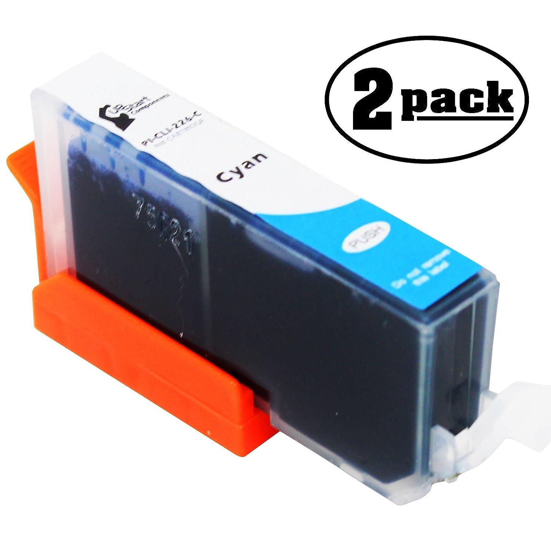 2 - Pack交換Canon Pixma mx892プリンタインクカートリッジ – シアン互換Canon cli-226シアンインクタンク(Canon 226 ) B073ZM3GLB