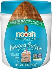 NOOSH Keto Friendly Birthday Cake Almond Butter - Vegan, Gluten Free, Kosher, Non GMO, No Soy, No Dairy, No Peanuts, Keto Friendly, low carb (Birthday Cake) (Jar 10oz)