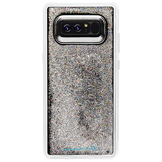 half off 95137 5c73c Case-Mate Note 8 Case - WATERFALL - Iridescent - Cascading Liquid Glitter -  Military Drop Protection - Protective Design for Samsung Galaxy Note 8 - ...
