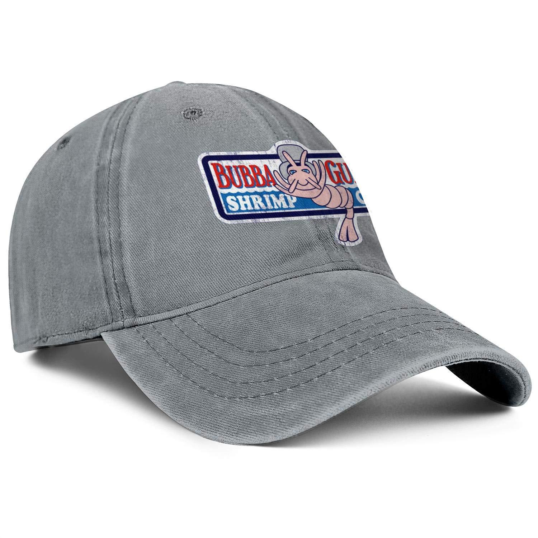 WintyHC Bubba Gump Logo Cowboy Hat Trucker Hat Adjustable Fits Baseball Cap