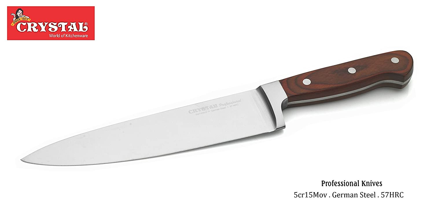 Buy Crystal Stainless Steel Bread Knife Brown Online At Low Prices