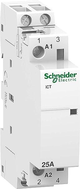 Schneider a9 C20532 Line – ICT Instalación 25 A 2S 50 Hz, 220 V: Amazon.es: Bricolaje y herramientas