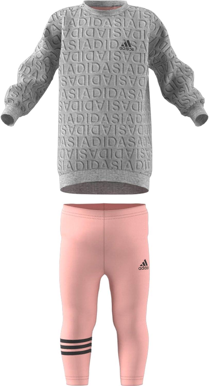 adidas Unisex Baby Sweat Dress Set Chándal: Amazon.es: Ropa y ...