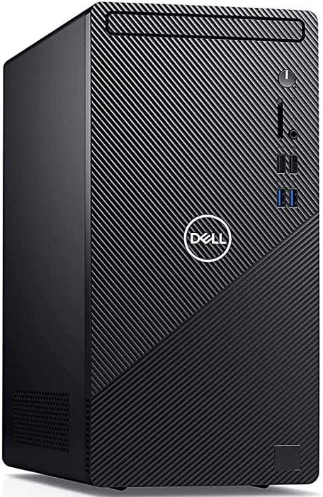 Dell Inspiron 3000 3880 2020 Premium Desktop Computer I 10th Gen Intel Hexa-Core i5-10400 (> i7-7700) up to 4.30 GHz I 16GB DDR4 512GB SSD 1TB HDD I with Mouse and Keyboard WiFi Win 10