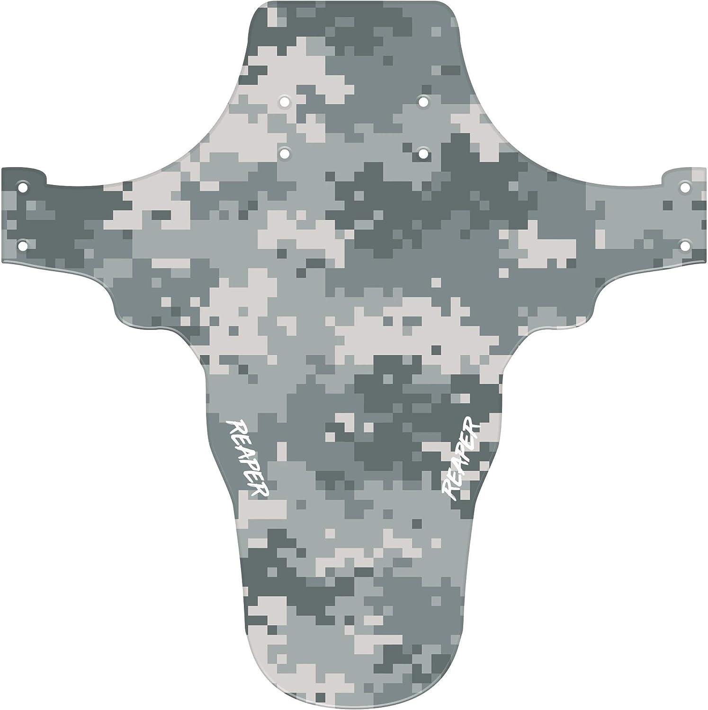 Reaper Accessories Garde-boue avant pour v/élo de montagne et v/élo Compatible avec 61 cm 66 cm et 27,5 cm Camo num/érique